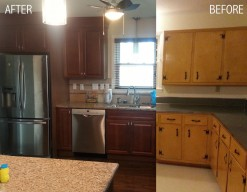 Kitchen Remodel-Before & After